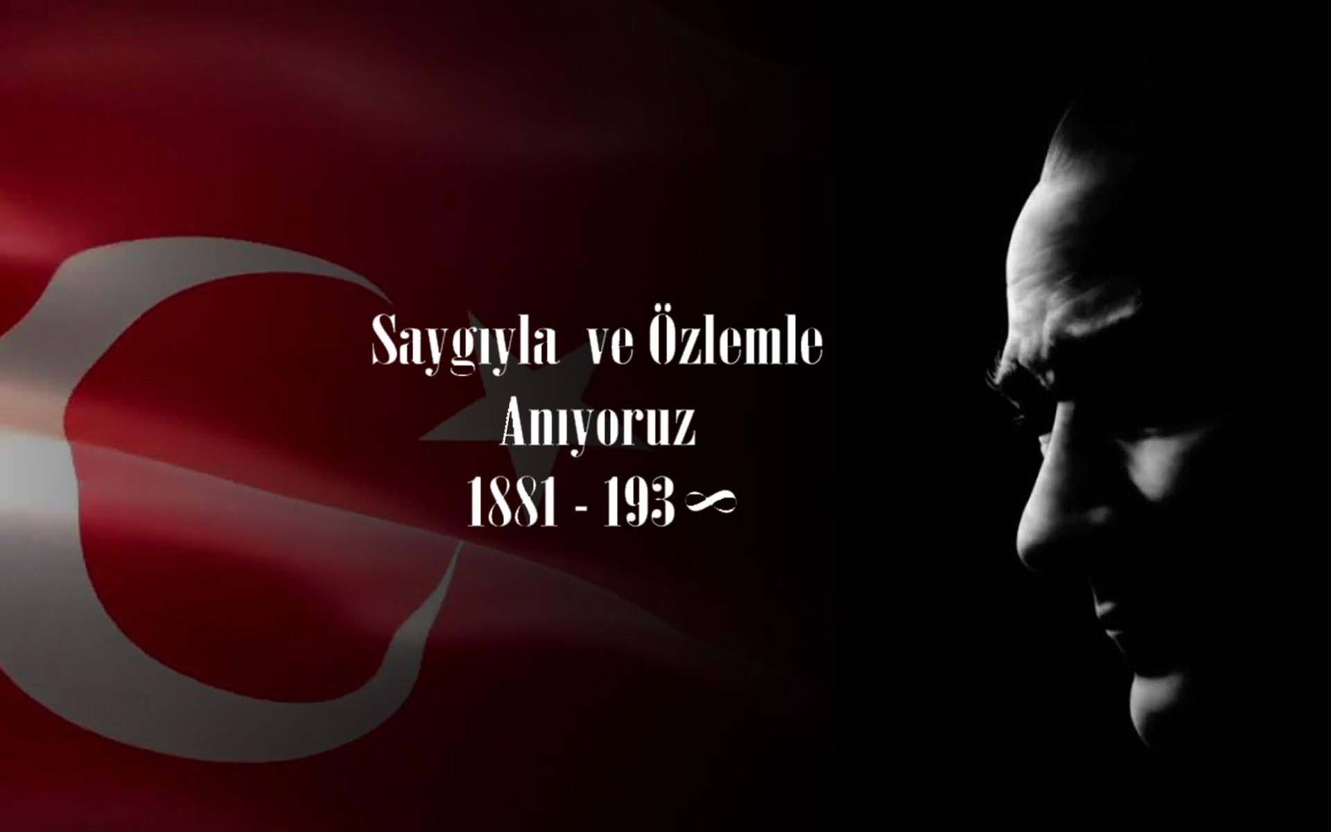 Ulu Önderimiz Gazi Mustafa Kemal Atatürkü Saygı ve